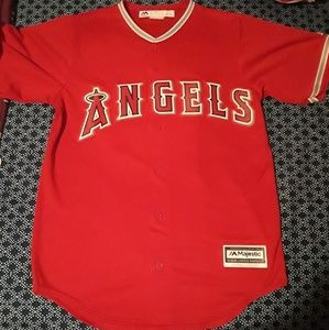 Authentic majestic cool base angels jersey
